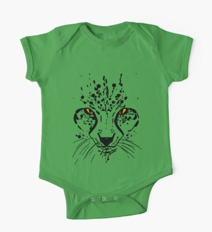 Cheetah Ink One Piece - Short Sleeve