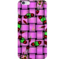 Butterflies and things iPhone Case/Skin