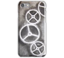 Charcoal Gears iPhone Case/Skin