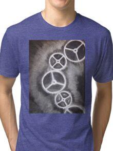 Charcoal Gears Tri-blend T-Shirt