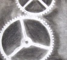 Charcoal Gears Sticker