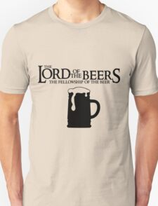 Lord of the Beers - Fellowship of the Beer T-Shirt