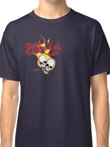 Flaming Skulls Classic T-Shirt