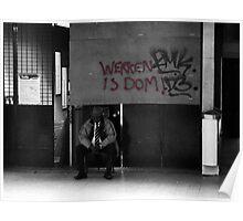 Werken is Dom! Poster