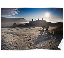 Sussex coast guard cottages Poster