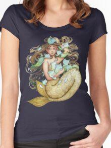 Mer Kittens Women's Fitted Scoop T-Shirt