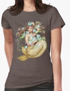 Mer Kittens Womens Fitted T-Shirt