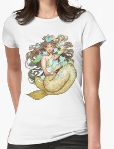 Mer Kittens Womens Fitted T-Shirt