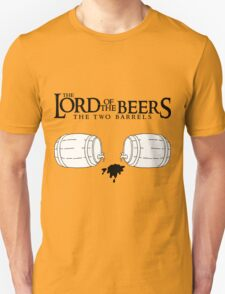 Lord of the Beers - The Two Barrels T-Shirt
