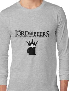 Lord of the Beers - Return of the Drink Long Sleeve T-Shirt
