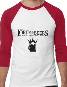 Lord of the Beers - Return of the Drink Men's Baseball ¾ T-Shirt