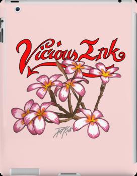 Frangipani Blossoms by TattooPaul