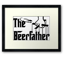 The Beerfather Framed Print