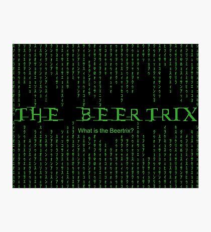 The Beertrix Photographic Print