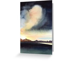 The Big Cloud, Port Meadow Greeting Card