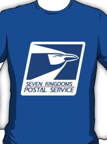 Seven Kingdoms Postal Service T-Shirt
