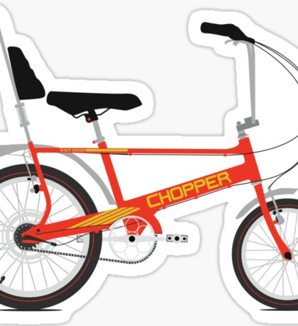 Chopper Bike Sticker