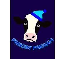 Freezin' Friesian Photographic Print