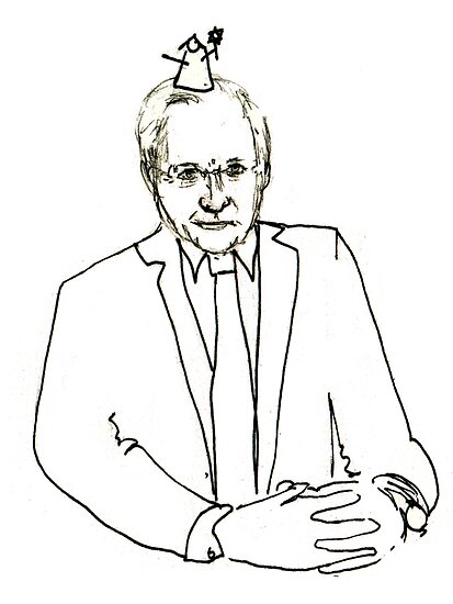 David Dimbleby by LotteFisher
