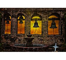 Mission Bells Photographic Print