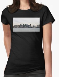 San Diego Skyline Womens Fitted T-Shirt