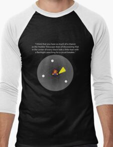 In every Black Hole... Men's Baseball ¾ T-Shirt
