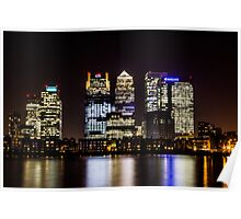 London City Skyline Poster