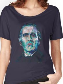 The Count - Christopher Lee Women's Relaxed Fit T-Shirt