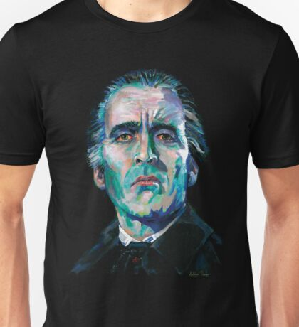 The Count - Christopher Lee Unisex T-Shirt