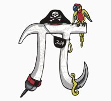 Pi Day Pirate Symbol One Piece - Short Sleeve
