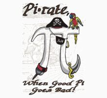 Pi Day Pirate Gone Bad One Piece - Long Sleeve