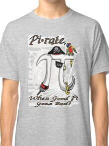 Pi Day Pirate Gone Bad Classic T-Shirt