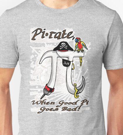 Pi Day Pirate Gone Bad Unisex T-Shirt