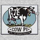 Funny Pi Day Cow Pi by MudgeStudios