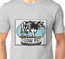 Funny Pi Day Cow Pi Unisex T-Shirt