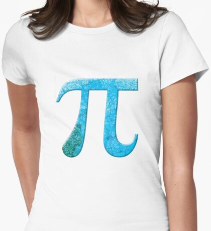 Pi Day Symbol 5 Womens Fitted T-Shirt