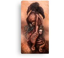 The Mutant Bloom, Version One Canvas Print