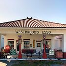 Westbrook&#x27;s Filling Station by Gene Walls