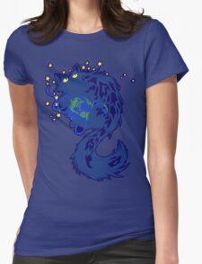 Galactic Kitten Womens Fitted T-Shirt