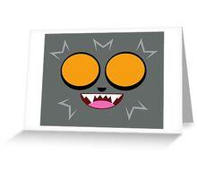 careto werewolf Greeting Card