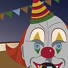 Alphabet Circus: C is for Clown-o-matic by Rumpleshark