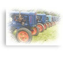 Fordson on Parade Canvas Print