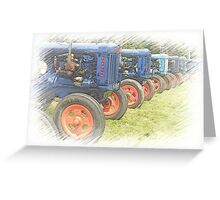 Fordson on Parade Greeting Card