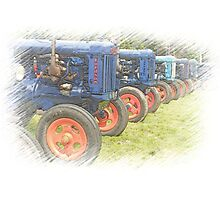 Fordson on Parade Photographic Print
