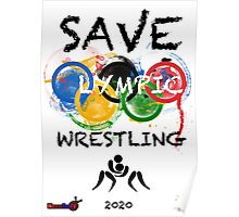 SAVE OLYMPIC WRESTLING!!! Poster