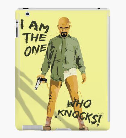 I am the one who knocks iPad Case/Skin