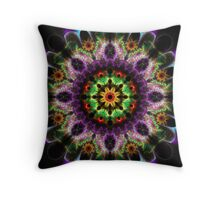 Field Mice And Flowers Throw Pillow
