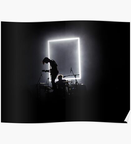 The 1975 - Matt Healy George Daniel Poster