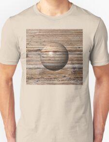 Wooden Globe Unisex T-Shirt