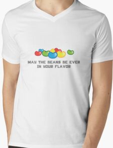 May The Beans Be Ever In Your Flavor Mens V-Neck T-Shirt